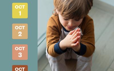 Prayer Guide October